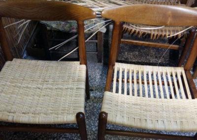impagliaura sedie